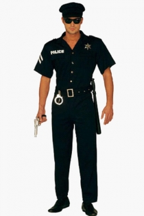 Pleasantly Hot Looking Men in Uniform Inspired Dark Polo Long Pants With Exciting Accents