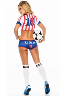 FIFA World Cup Russia 2018 --Soccer USA Player Uniforms Costumes