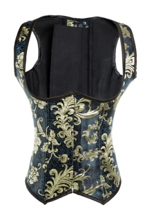 Enchanting Underbust Corset with Straps & Lovely Back Lace Up Detailing