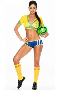 FIFA World Cup Russia 2018 --Soccer Brazil Player Uniforms Costumes