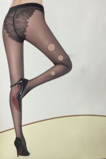 Hot and Sour Black Pantyhose