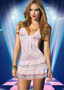 Sexy Babydoll with Cute Bows Front