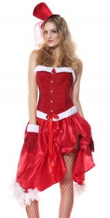 Sexy Santa Costume Women Carnival Party Cosplay Fancy Dress Xmas Outfits Christmas Costumes