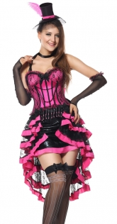 Burlesque Mad Hatter Fancy Dress Cosplay Alice in Wonderland Sexy Halloween Costumes