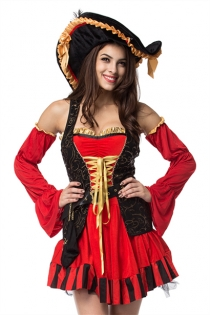 Classic Vixen Pirate Wench Costume