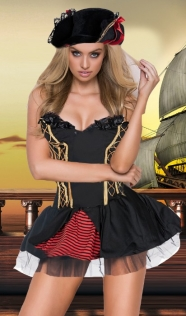 Sexy Wild Pirate Wench Costume
