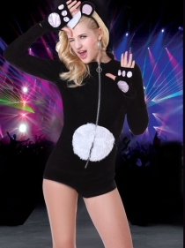Animal Jumpsuit Set Sexy Halloween Costumes