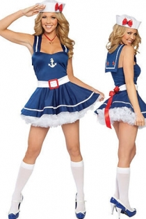 Sexy Sailor Costume Without Stocking,9635