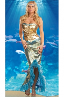 Adult Mermaid Costume,9932