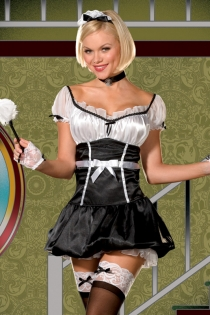 French Maid Lingerie Set,9456