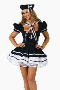 Flirty Sailor Costume,9604