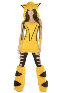 Yellow Mouse Costume,9055 (Clearance, only 1 set in stock)