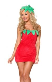Sexy Strawberry Costume,9940