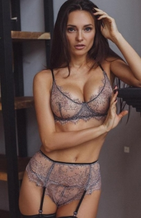 Sexy lace bralette panties set