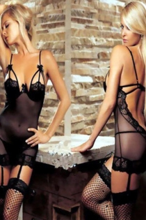 Flirtatious See-Through Black Intimate Skimpy Dress Half Covered Lace Strips Ribbon Cup Gorgeous Backless Spaghetti