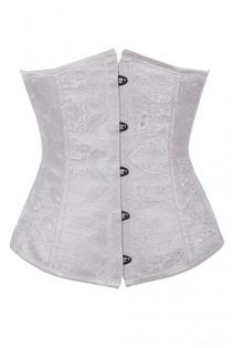 Fashionable White Underbust Corset