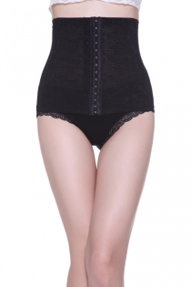 Comfy Waist Cincher with Front Eye & Hook Closure