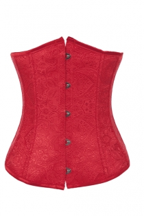 Fashionable Red Underbust Corset