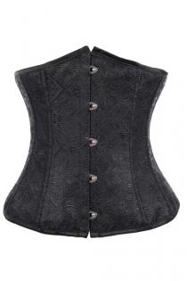 Fashionable Black Underbust Corset