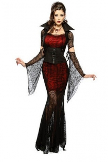 Enchanting Vampire Costume Dress
