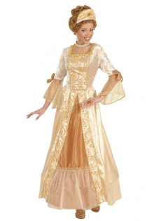 Sexy Fairytale Queen Costume Dress with Ornate Sleeves