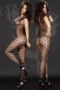 Sexy Black Big-net Body Stockings