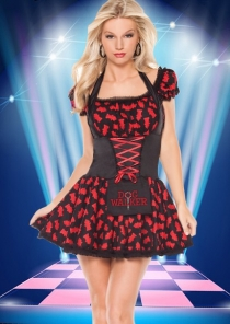 Sexy School Girl Costume Dress
