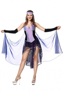 Deluxe Sorceress Women Adult Naughty Elves Witch Costumes