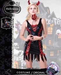 Women Devil Halloween Costume