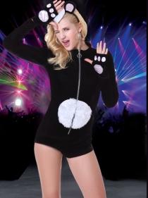 Animal Jumpsuit Set Sexy Halloween Costumes